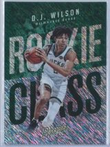D.J. Wilson Panini Prestige 2017-18 Rookie Class Rain Parallel