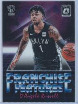 DAngelo Russell Panini Donruss Optic Basketball 2018-19 Franchise Features