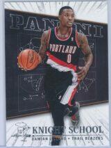 Damian Lillard Panini Panini Basketball 2013-14 Knight School