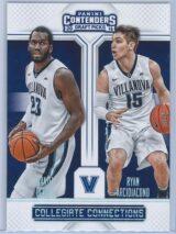 Daniel Ochefu - Ryan Arcidiacono Panini Contenders Draft Picks 2016-17 Collegiate Connections