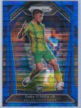 Dara Oshea Panini Prizm Premier League 2020-21  Blue Pulsar 092195 RC