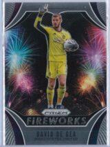 David De Gea Panini Prizm Premier League 2020-21 Fireworks