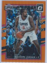 DeAndre Jordan Panini Donruss Optic Basketball 2017-18  Orange Prizm 054199