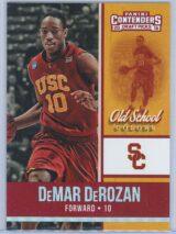 DeMar DeRozan Panini Contenders Draft Picks 2016-17 Old School Colors