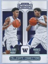 Dejounte Murray - Marquese Chriss Panini Contenders Draft Picks 2016-17 Collegiate Connections