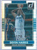 Devin Harris Panini Donruss Basketball 2014-15  Silver Season Stat Line 011178