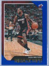 Dion Waiters Panini NBA Hoops 2018-19  Blue
