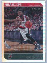 Dorell Wright Panini NBA Hoops 2014 15 Silver 229399 1