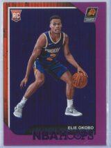Elie Okobo Panini NBA Hoops 2018-19  Purple  RC