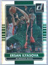 Ersan Ilyasova Panini Donruss Basketball 2014-15  Silver Career Stat Line 039342