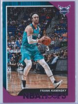 Frank Kaminsky Panini NBA Hoops 2018-19  Purple