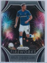 Gylfi Sigurdsson Panini Prizm Premier League 2020-21 Fireworks