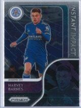 Harvey Barnes Panini Prizm Premier League 2020-21 Instant Impact