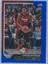 Hassan Whiteside Panini NBA Hoops 2018-19  Blue