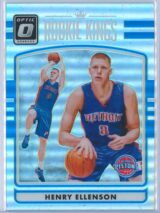 Henry Ellenson Panini Donruss Optic Basketball 2016-17 Rookie Kings Holo  RY