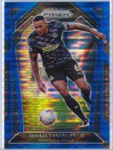 Jamaal Lascelles Panini Prizm Premier League 2020-21  Blue Pulsar 015195