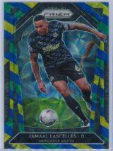 Jamaal Lascelles Panini Prizm Premier League 2020-21  Blue Yellow Green Choice Prizm