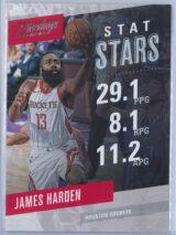 James Harden Panini Prestige 2017-18 Stat Stars