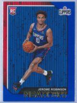 Jerome Robinson Panini NBA Hoops 2018-19  Blue  RC