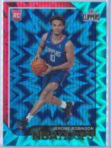 Jerome Robinson Panini NBA Hoops 2018-19  Teal Explosion  RC