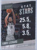 Kawhi Leonard Panini Prestige 2017-18 Stat Stars