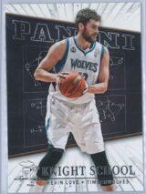 Kevin Love Panini Panini Basketball 2013-14 Knight School