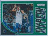 Luka Doncic Panini Prizm 2019-20 Get Hyped Green Prizm