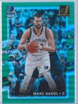 Marc Gasol Panini Donruss Basketball 2017-18  Holo Green Laser 7099