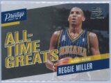 Reggie Miller Panini Prestige 2017-18 All Time Greats