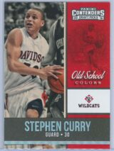Stephen Curry Panini Contenders Draft Picks 2016-17 Old School Colors