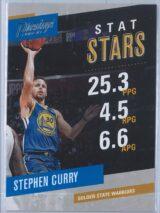 Stephen Curry Panini Prestige 2017-18 Stat Stars