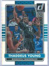 Thaddeus Young Panini Donruss Basketball 2014-15  Silver Season Stat Line 009310