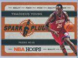 Thaddeus Young Panini NBA Hoops 2012-13 Spark Plugs