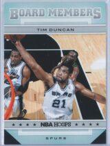 Tim Duncan Panini NBA Hoops 2012-13 Board Members