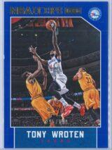 Tony Wroten Panini NBA Hoops 2015-16  Blue 295399
