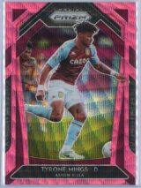 Tyrone Mings Panini Prizm Premier League 2020-21  Pink Wave