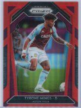 Tyrone Mings Panini Prizm Premier League 2020-21  Red Prizm 040149