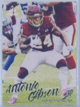 Antonio Gibson Panini Chronicles Football 2020 Luminance RC