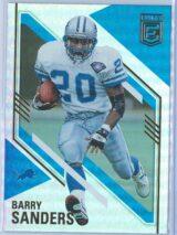 Barry Sanders Panini Donruss Elite Football 2021 Base
