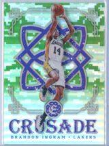 Brandon Ingram Panini Excalibur Basketball 2016-17 Crusade Camo