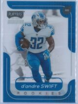 D'Andre Swift Panini Chronicles Football 2020 Playoff RC
