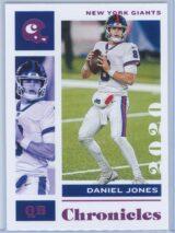 Daniel Jones Panini Chronicles Football 2020 Base Pink