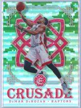 DeMar DeRozan Panini Excalibur Basketball 2016-17 Crusade Camo