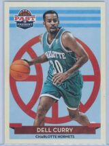 Dell Curry Panini Past And Present Basketball 2012-13 Base