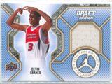 Devin Ebanks Upper Deck Jordan Brand Classic 2009-10 Draft Edition   Patch