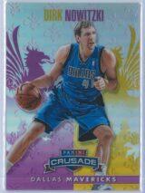 Dirk Nowitzki Panini Crusade Basketball 2013 14 Base Purple 4749 1