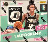 Donruss Optic Basketball 2020 21 Choice Box