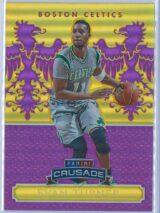 Evan Turner Panini Excalibur Basketball 2014 15 Crusade Camouflage Purple 4175 1