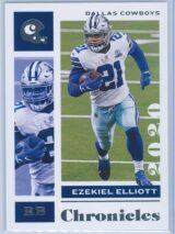 Ezekiel Elliott Panini Chronicles Football 2020 Base