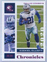Ezekiel Elliott Panini Chronicles Football 2020 Base Pink
